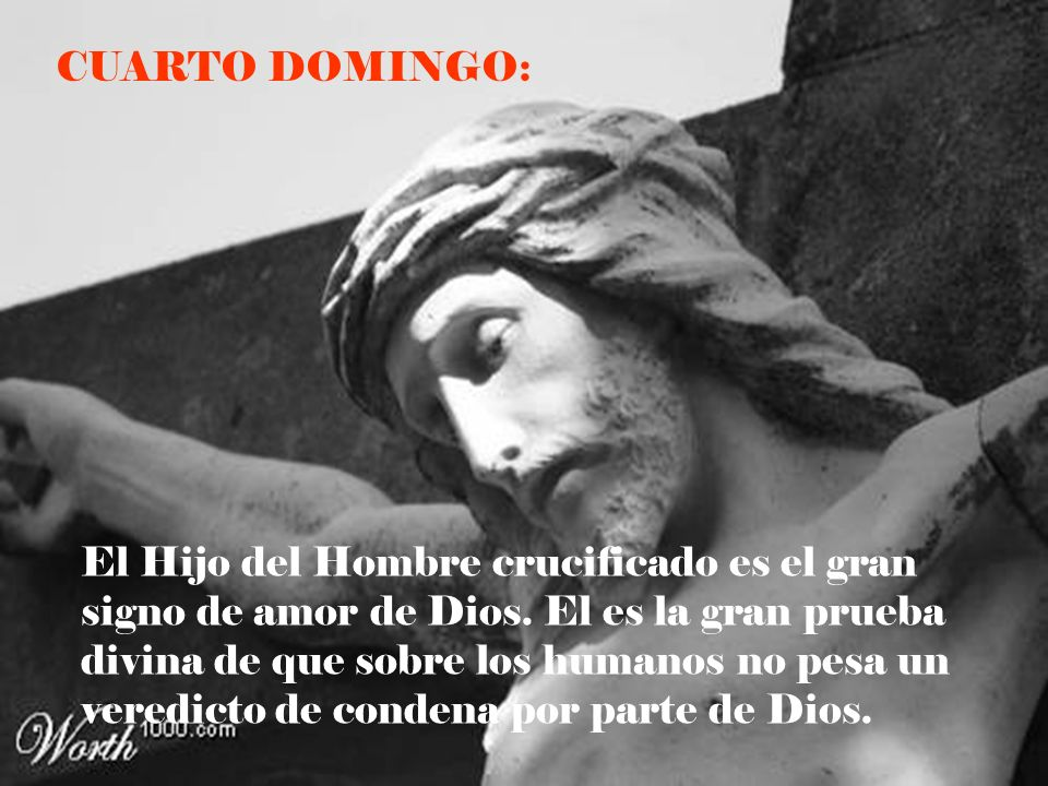 CUARTO DOMINGO: