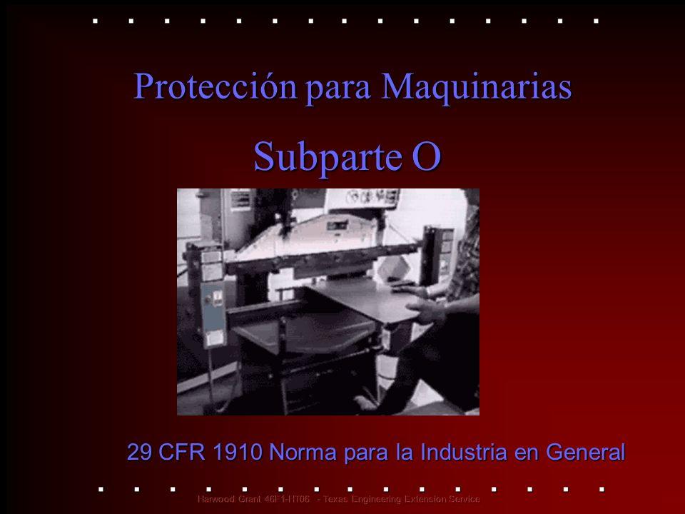 Protección para Maquinarias