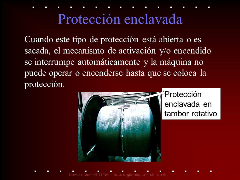 Protección enclavada