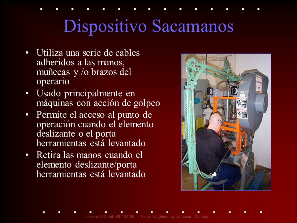 Dispositivo Sacamanos