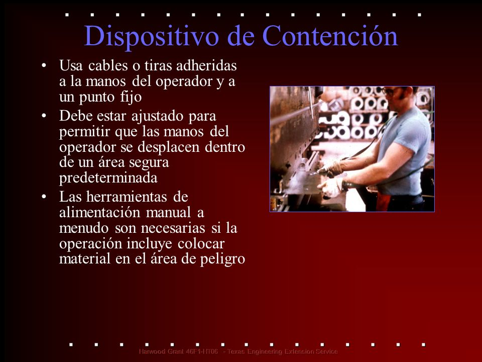 Dispositivo de Contención