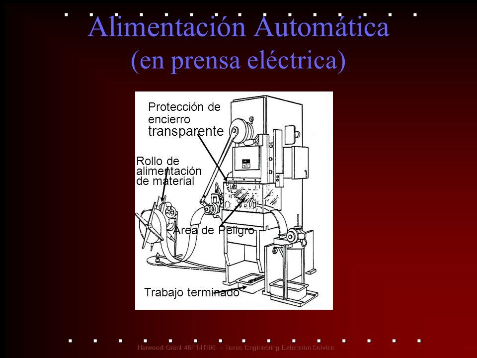 Alimentación Automática (en prensa eléctrica)