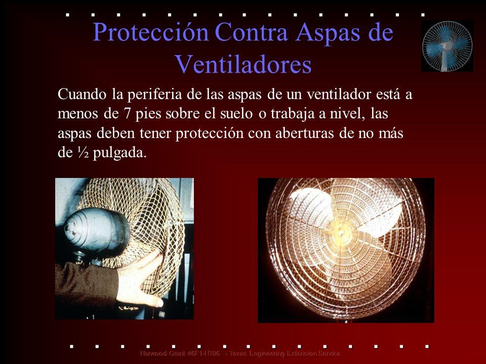 Protección Contra Aspas de Ventiladores
