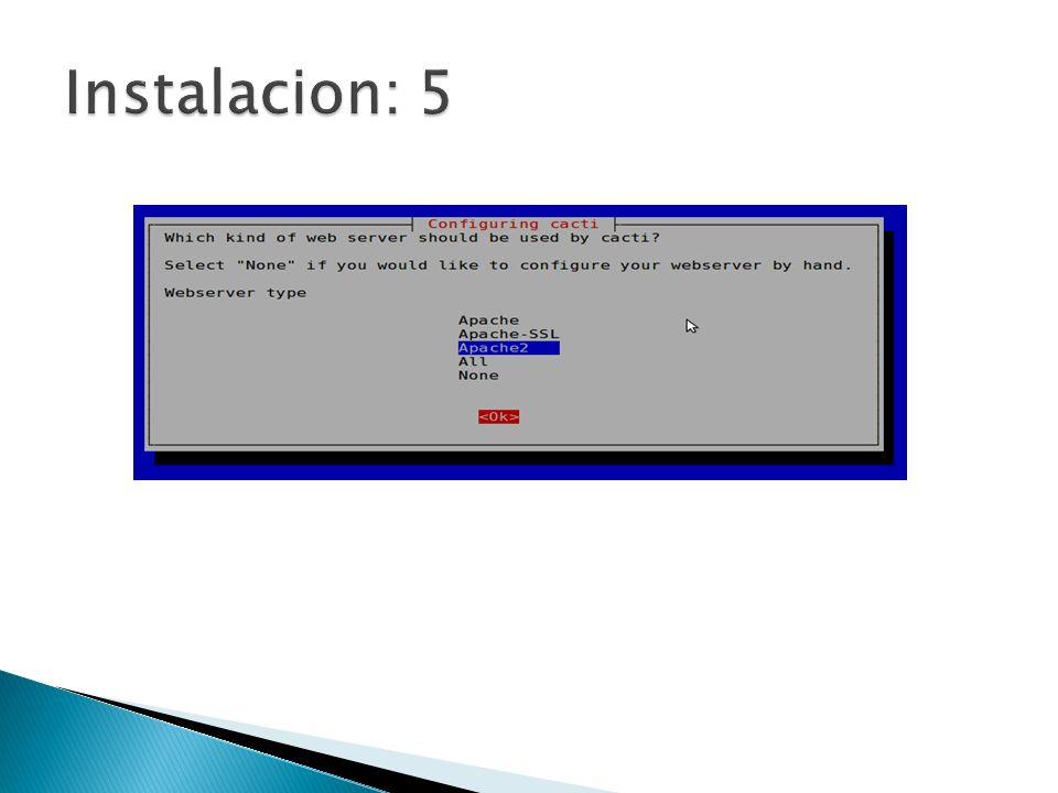 Instalacion: 5