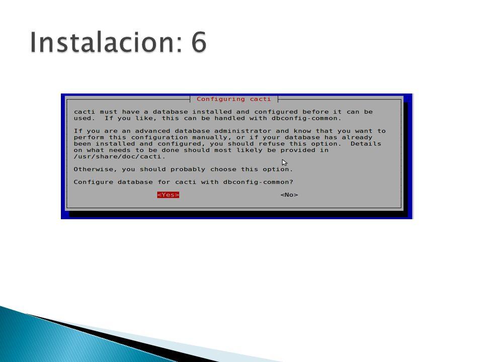 Instalacion: 6