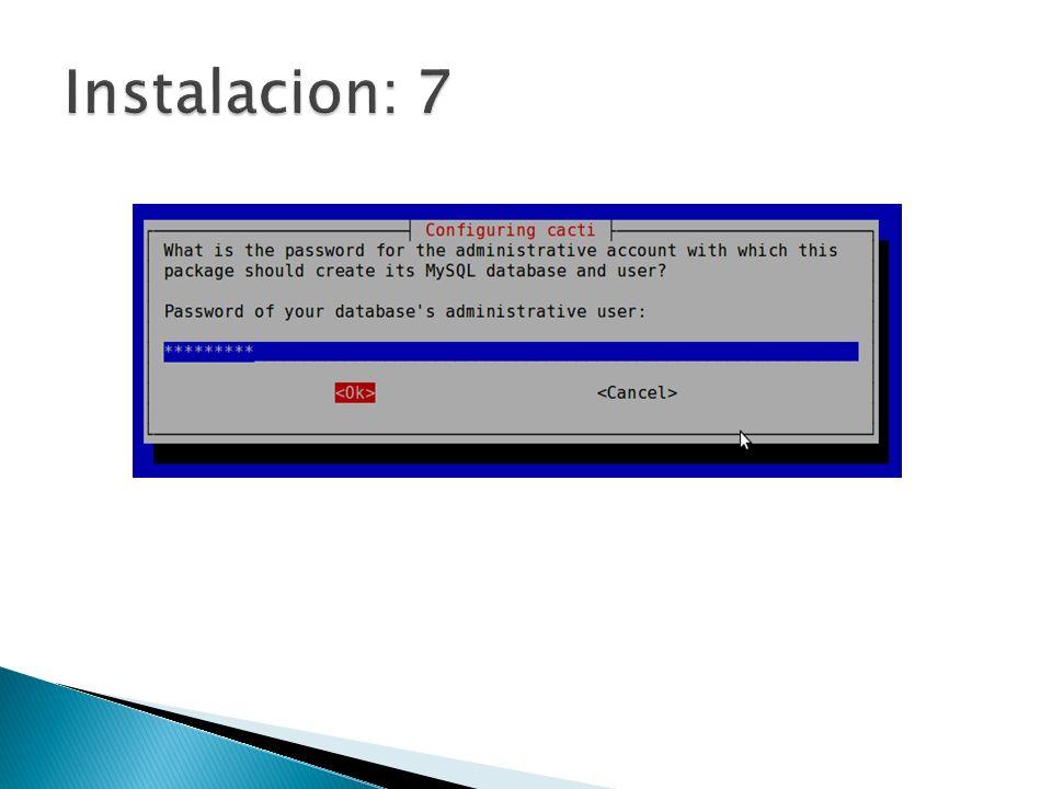 Instalacion: 7