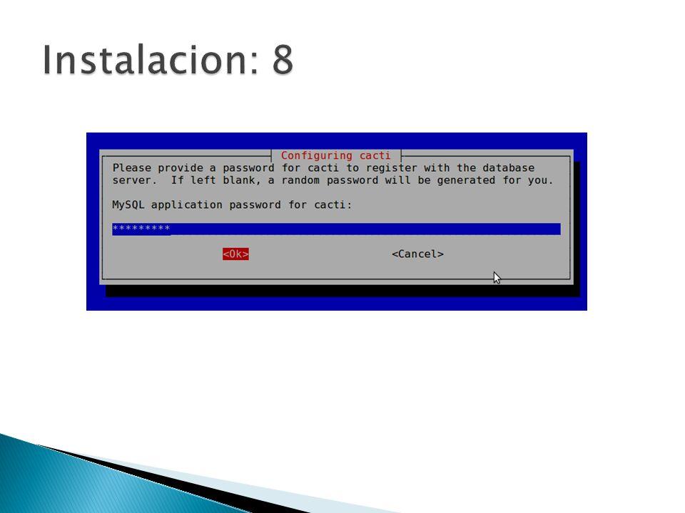 Instalacion: 8