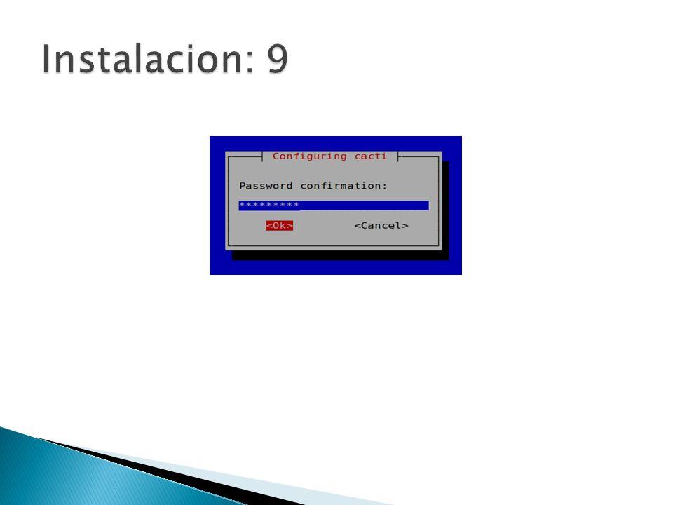 Instalacion: 9