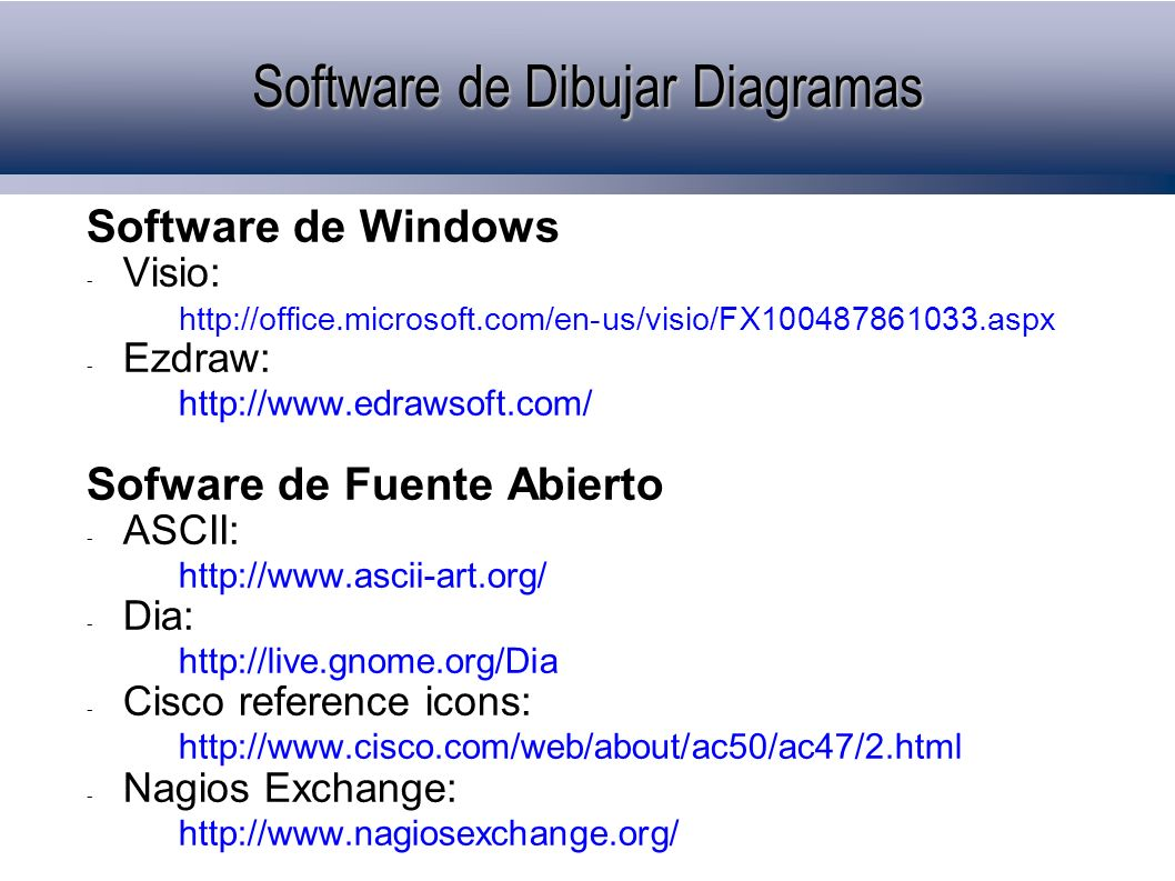 Software de Dibujar Diagramas