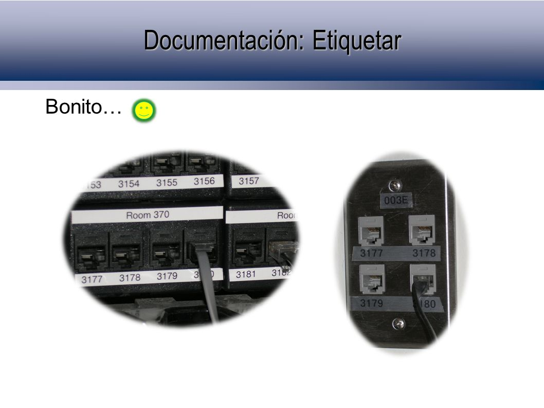 Documentación: Etiquetar