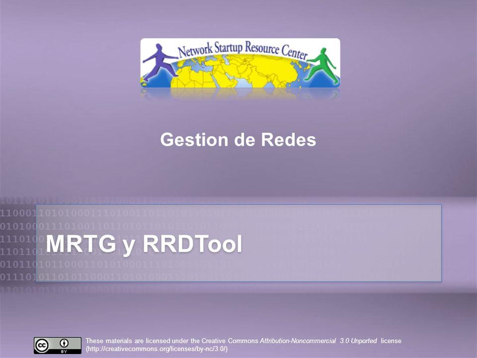 10/25/10 Gestion de Redes MRTG y RRDTool