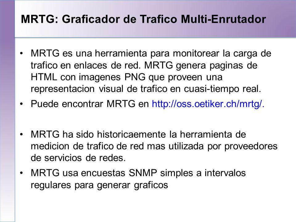 MRTG: Graficador de Trafico Multi-Enrutador