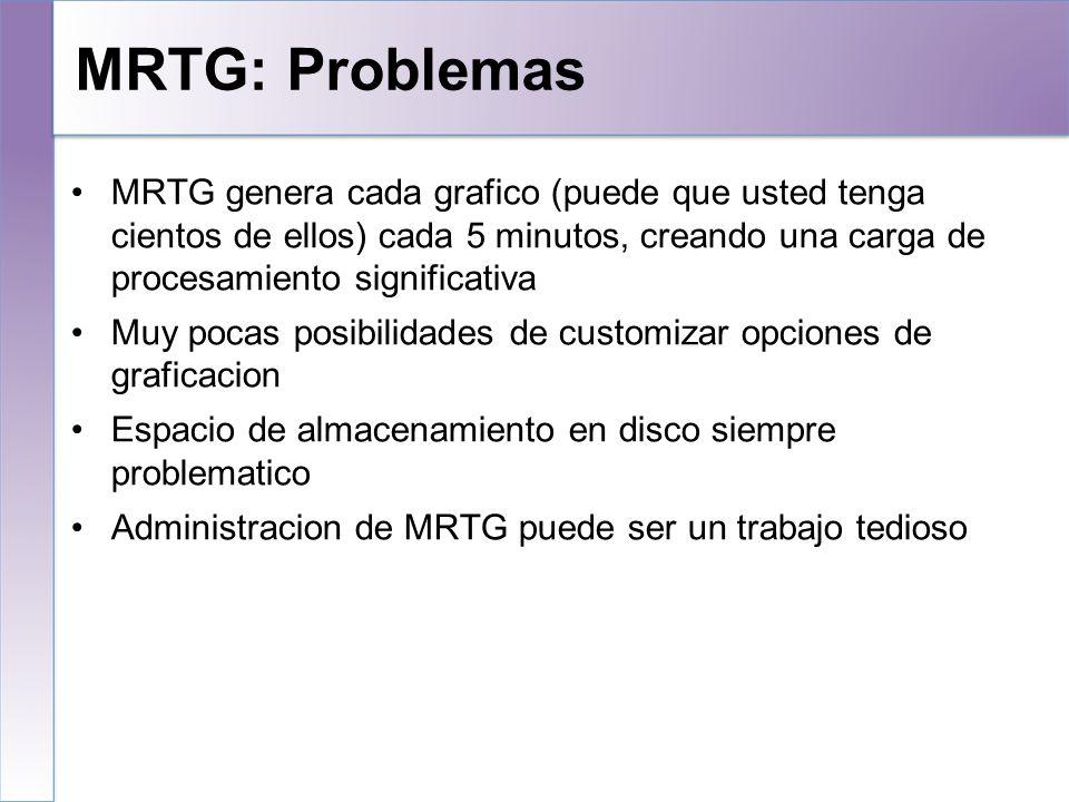 MRTG: Problemas 10/25/10.