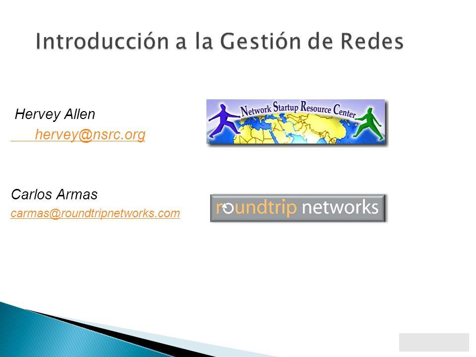 Introducción a la Gestión de Redes