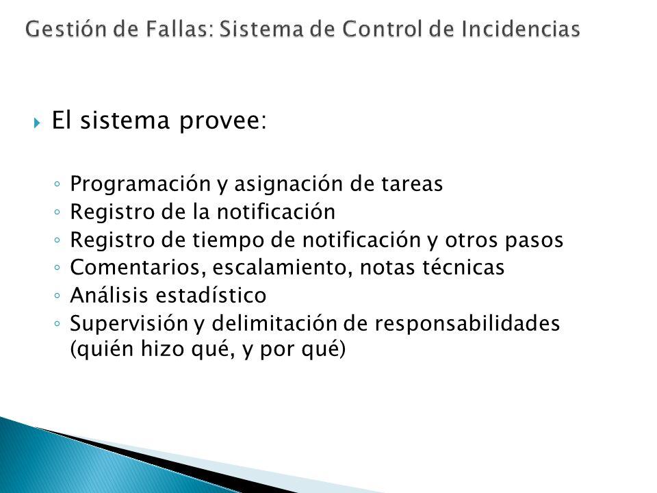 Gestión de Fallas: Sistema de Control de Incidencias