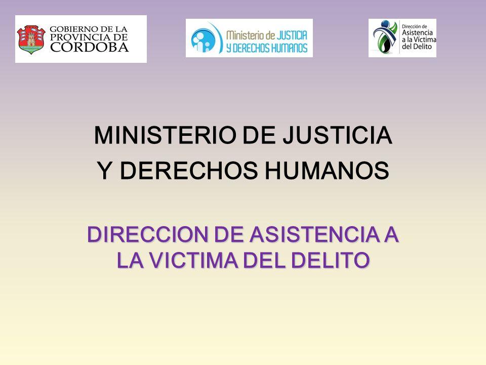 Ministerio de justicia direccion de asistencia a la for Ministerio de interior y justicia direccion