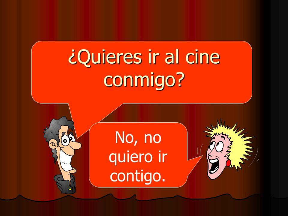 ¿Quieres ir al cine conmigo