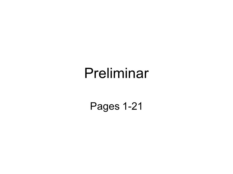 Preliminar Pages 1-21