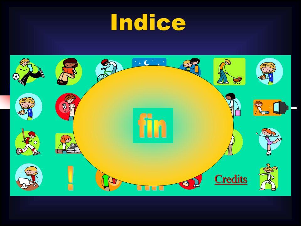 Indice Credits fin ! fin
