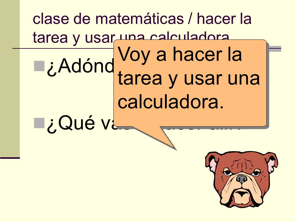 clase de matemáticas / hacer la tarea y usar una calculadora.