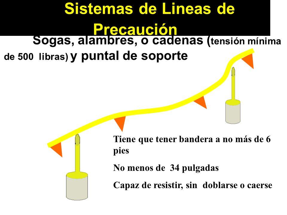Sistemas de Lineas de Precaución