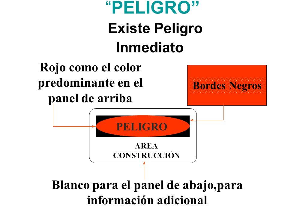 PELIGRO (Existe Peligro Inmediato)