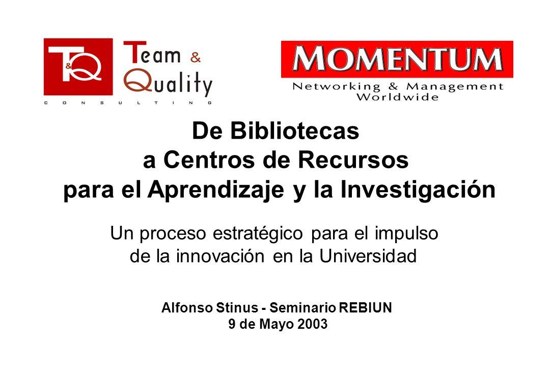 Alfonso Stinus - Seminario REBIUN
