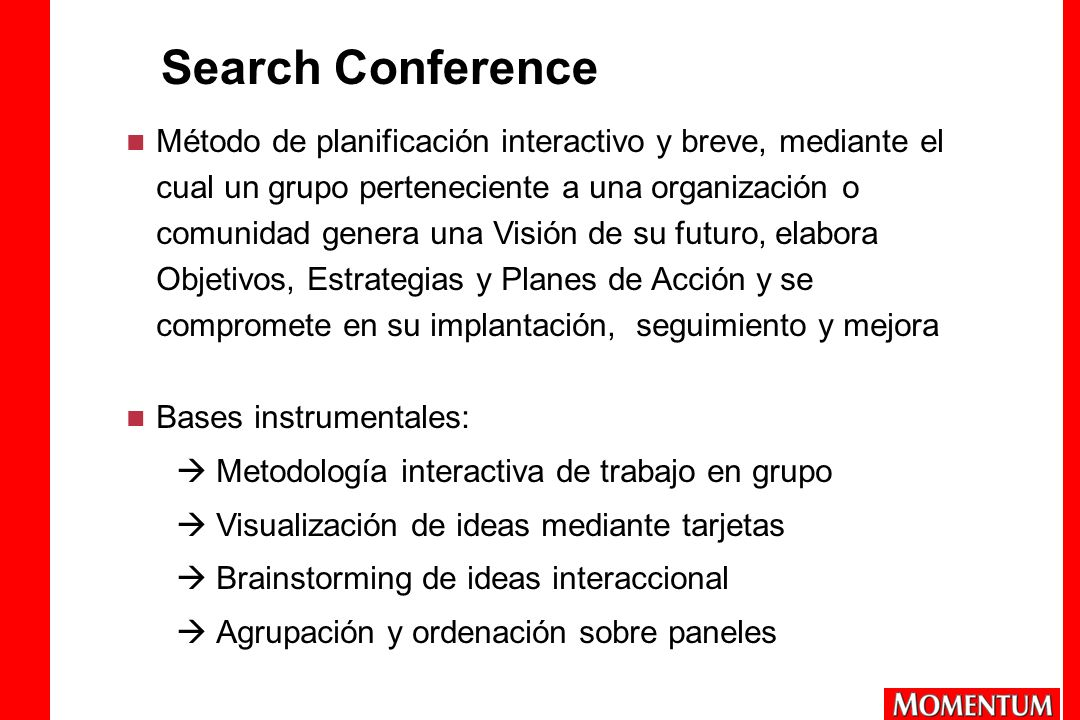 Search Conference