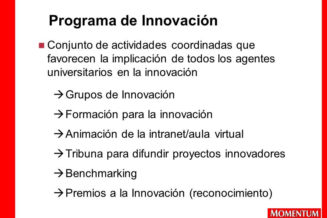 Programa de Innovación