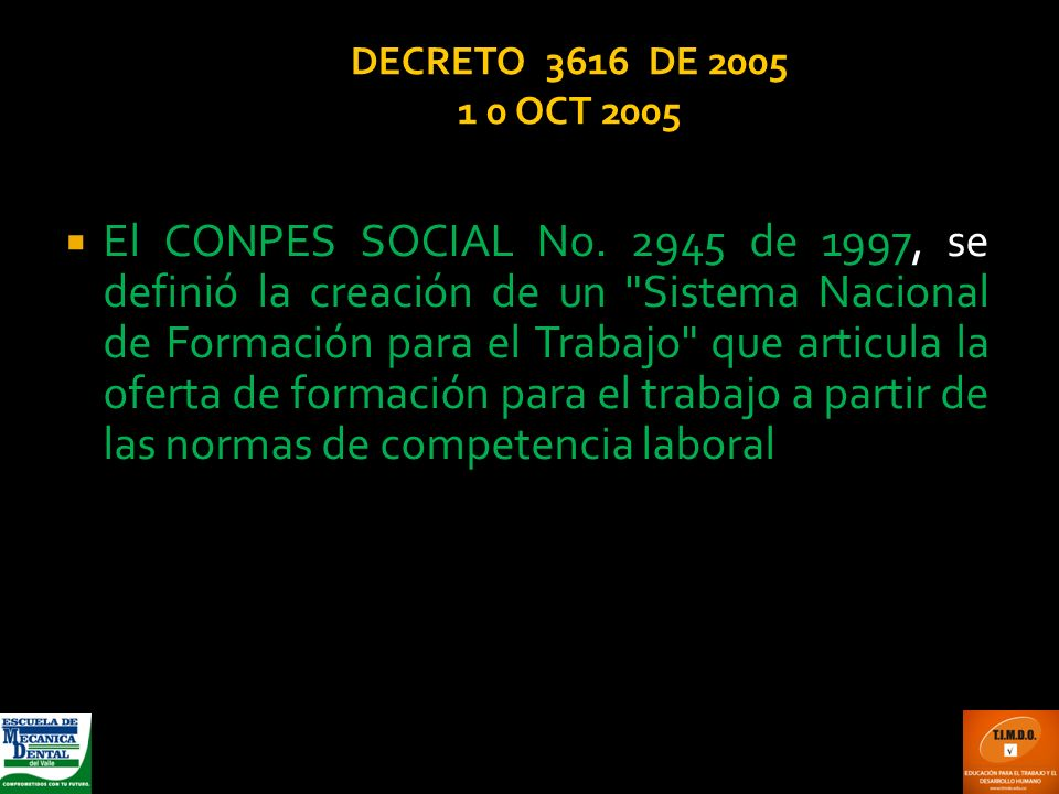 DECRETO 3616 DE 2005 1 0 OCT 2005