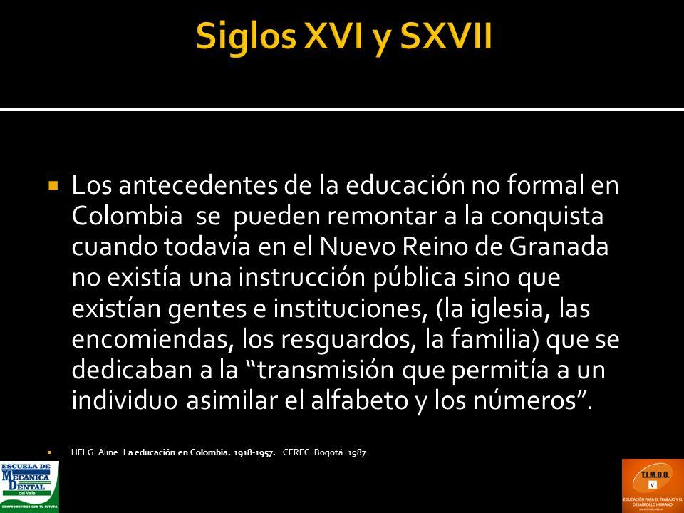 Siglos XVI y SXVII