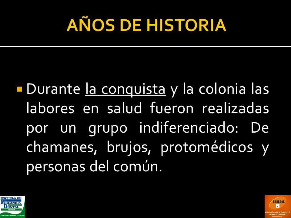 AÑOS DE HISTORIA