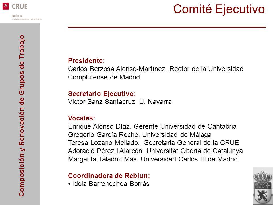 Comité Ejecutivo Presidente: