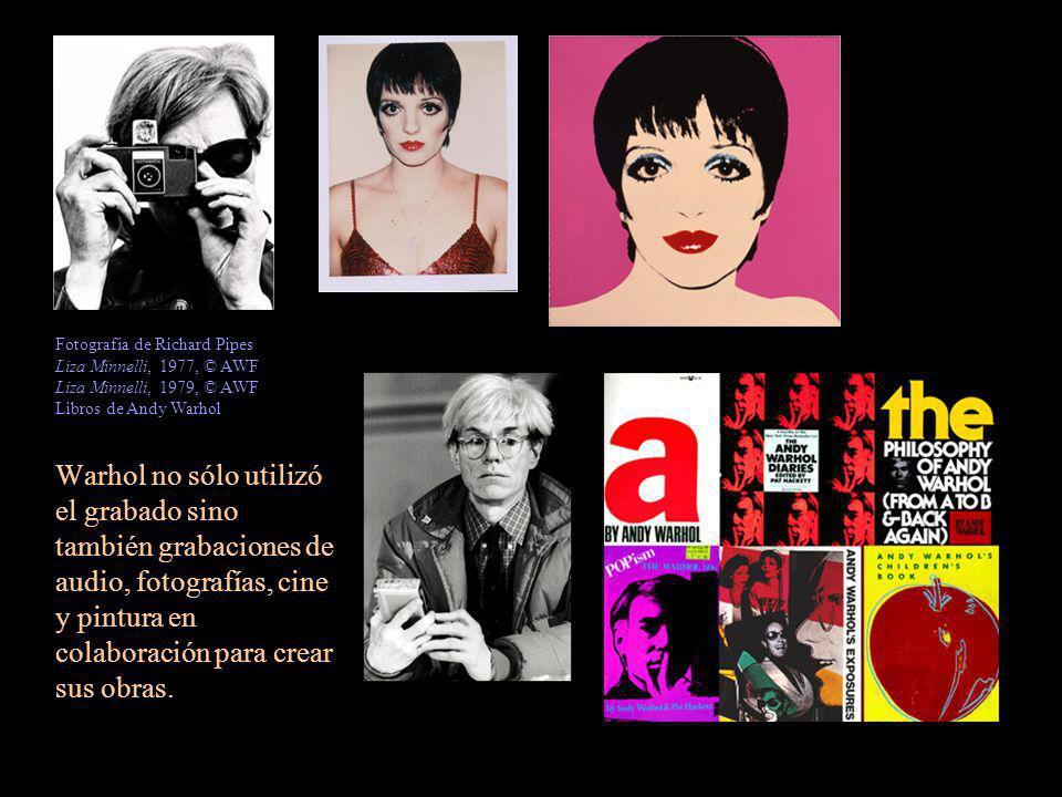 Fotografía de Richard Pipes Liza Minnelli, 1977, © AWF Liza Minnelli, 1979, © AWF Libros de Andy Warhol