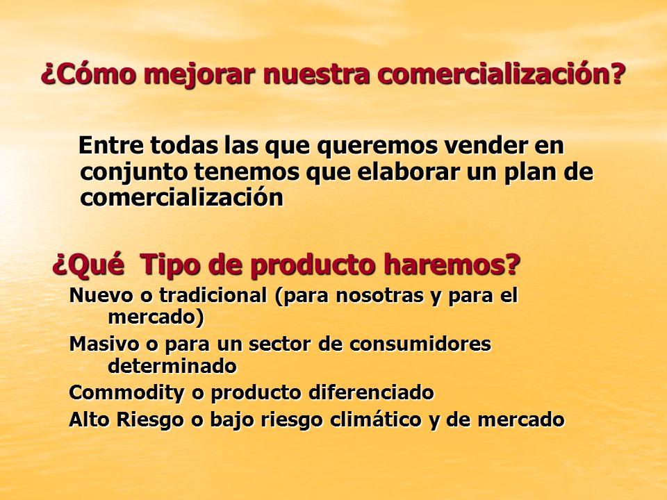 ¿Cómo mejorar nuestra comercialización