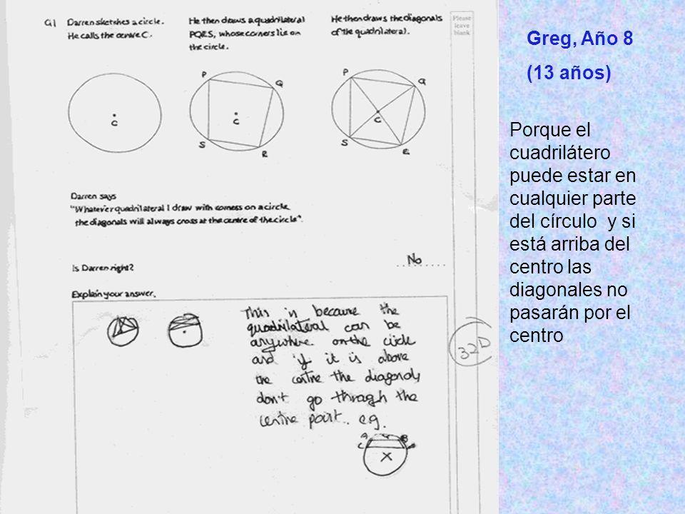 Greg, Año 8 (13 años)
