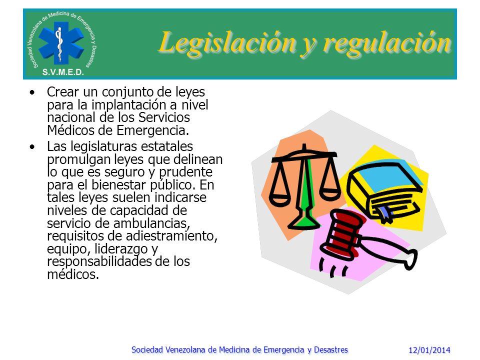 Legislación y regulación