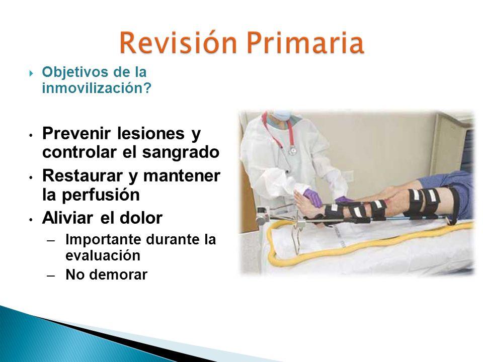 Prevenir lesiones y controlar el sangrado