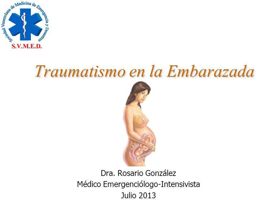 Traumatismo en la Embarazada