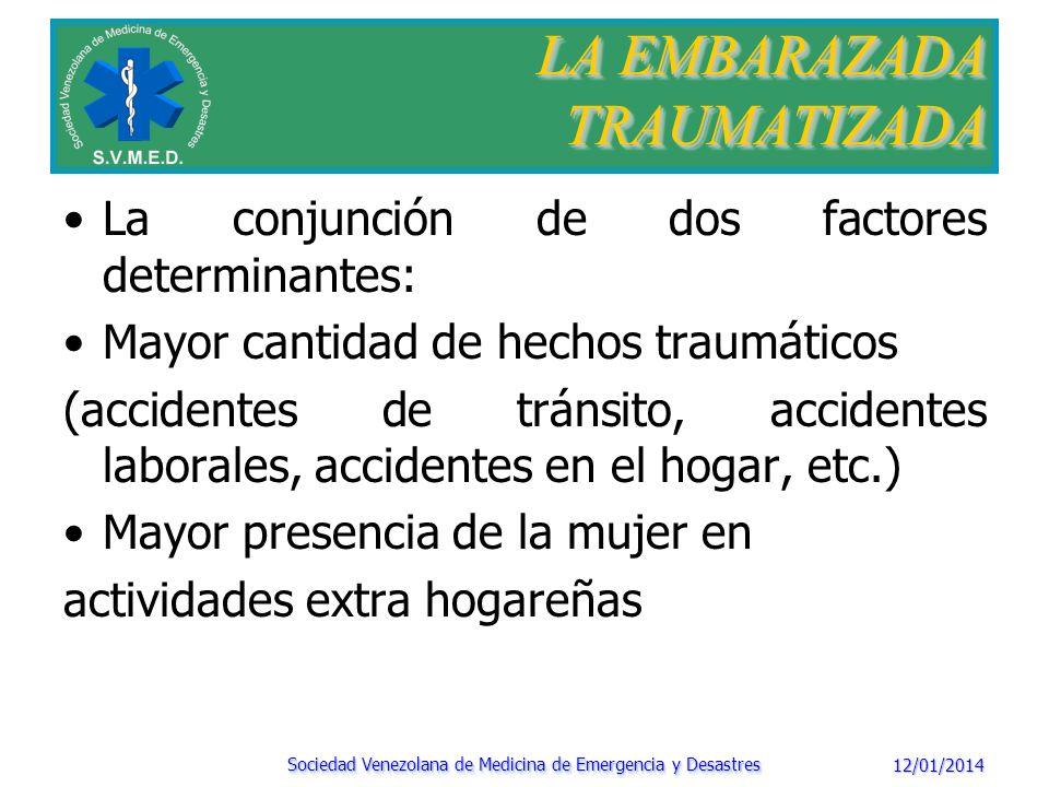 LA EMBARAZADA TRAUMATIZADA