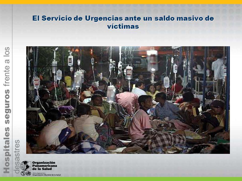 El Servicio de Urgencias ante un saldo masivo de víctimas