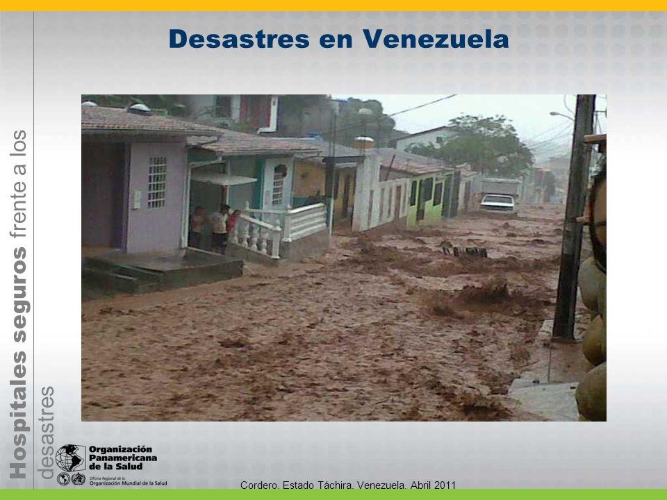 Desastres en Venezuela