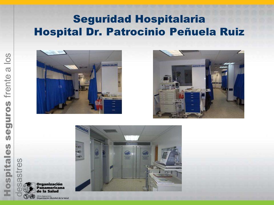 Seguridad Hospitalaria Hospital Dr. Patrocinio Peñuela Ruiz