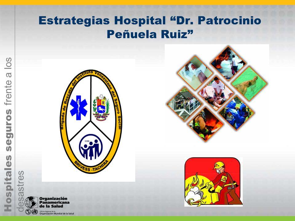 Estrategias Hospital Dr. Patrocinio Peñuela Ruiz