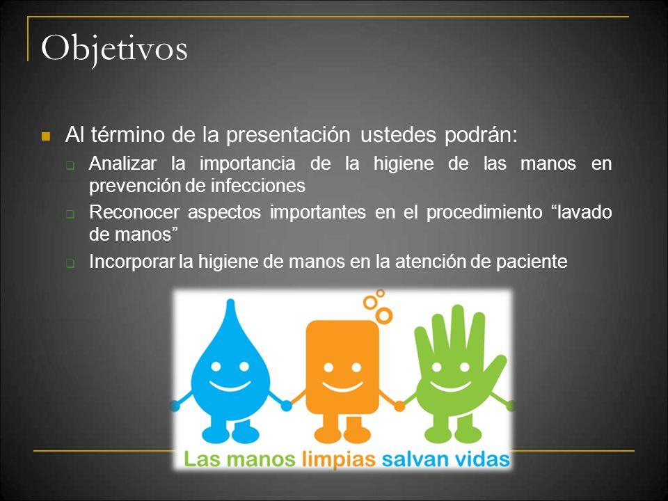 Objetivos Al término de la presentación ustedes podrán: