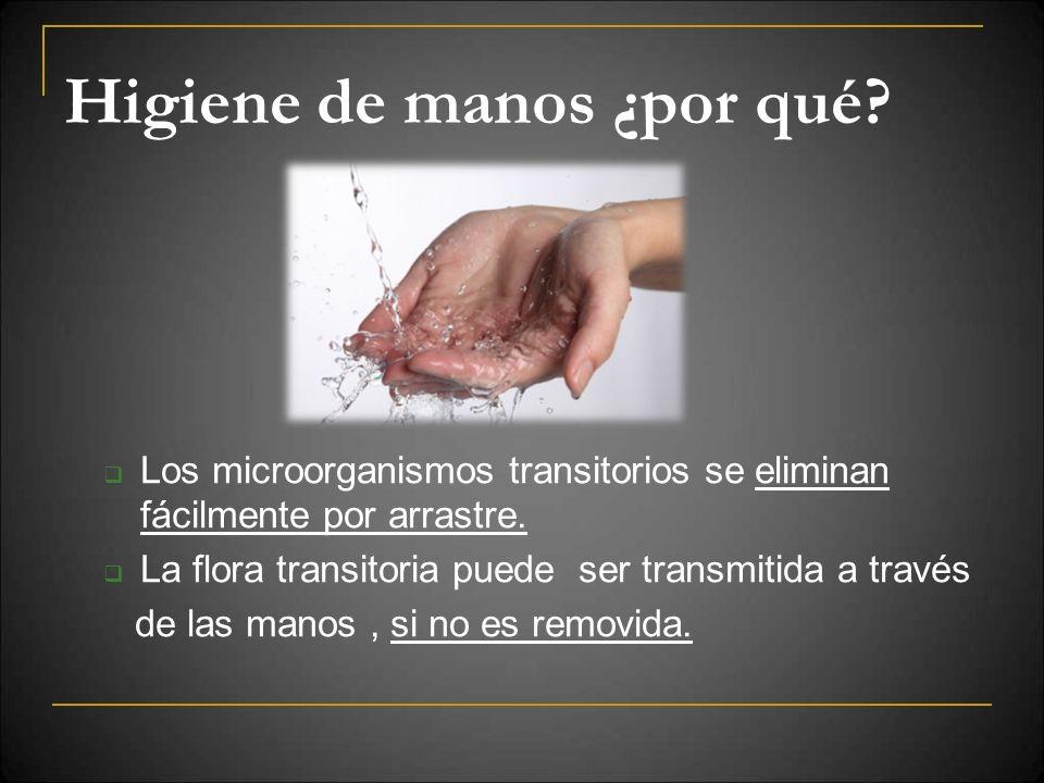 Higiene de manos ¿por qué