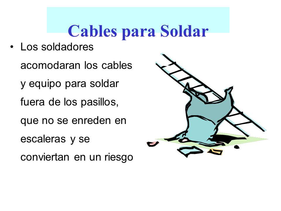 Cables para Soldar