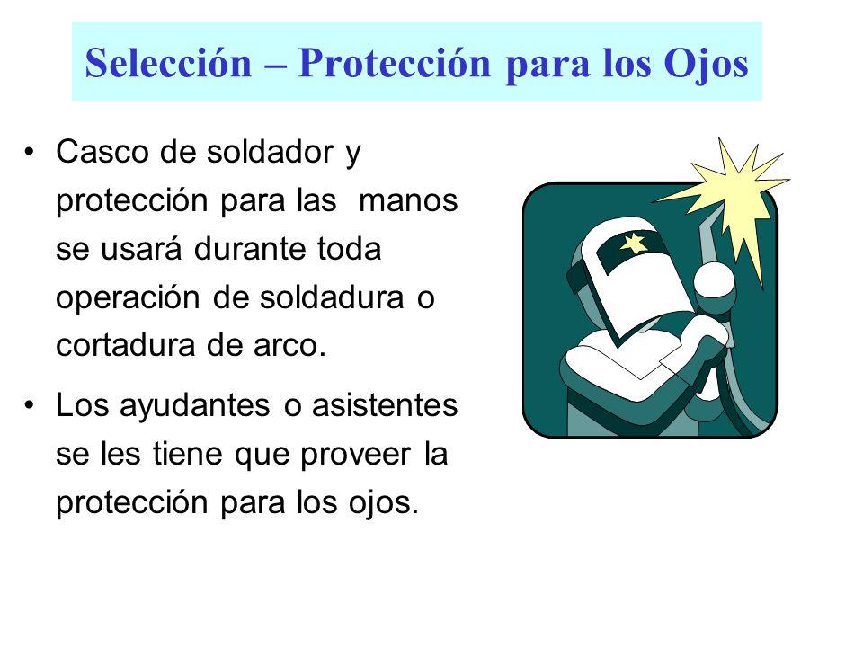 Selección – Protección para los Ojos
