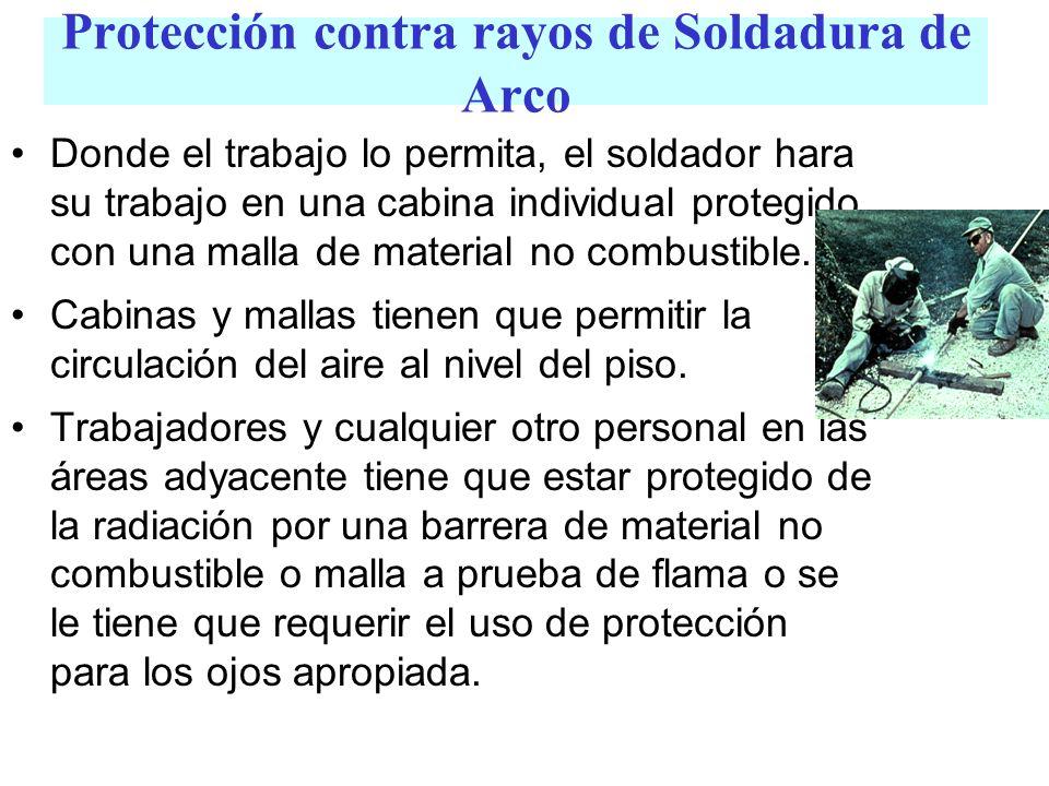 Protección contra rayos de Soldadura de Arco