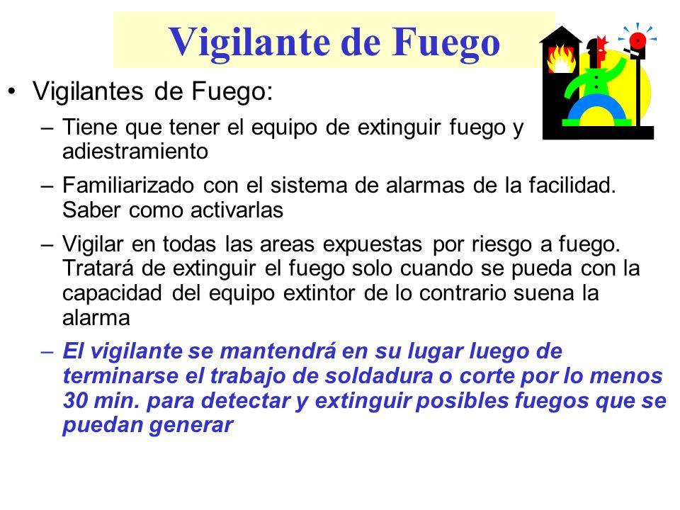 Vigilante de Fuego Vigilantes de Fuego: